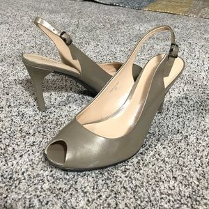 Ann Taylor Patent Leather Heels